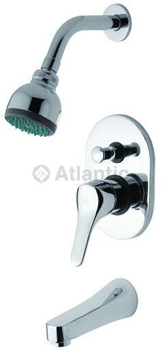 Monocomando para ducha cromado atlantic s a e for Griferia monocomando para ducha